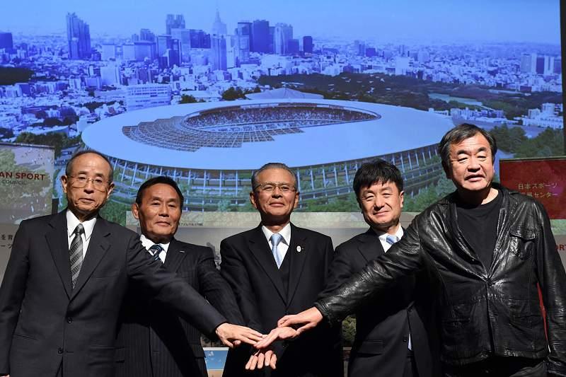 Novo estádio olímpico de Tóquio pronto no final de 2019