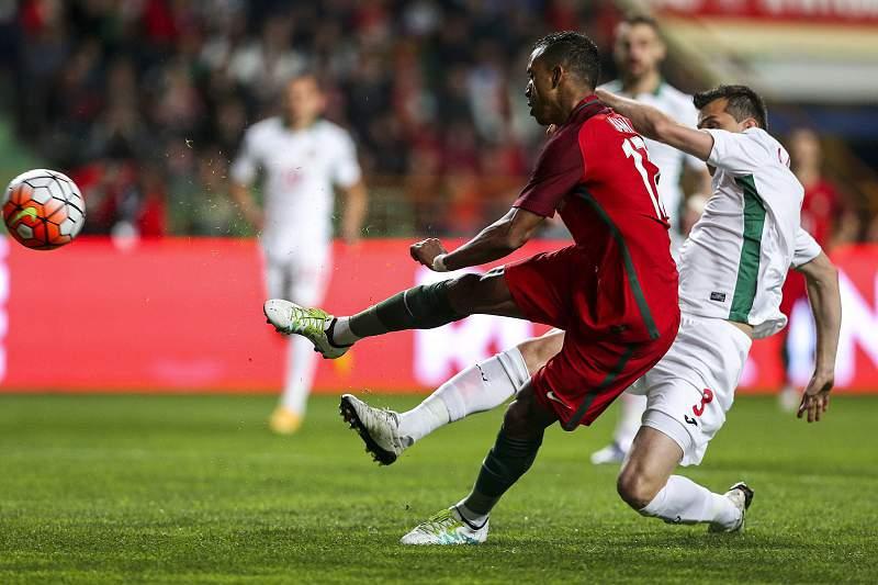 Portugal-Bulgária: Nani falha mais um golo