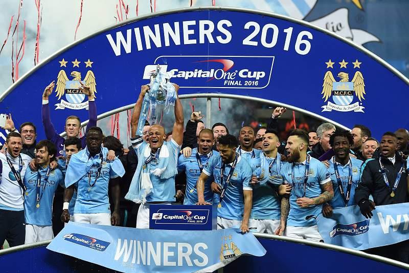 Manchester City conquista a Taça da Liga em Inglaterra
