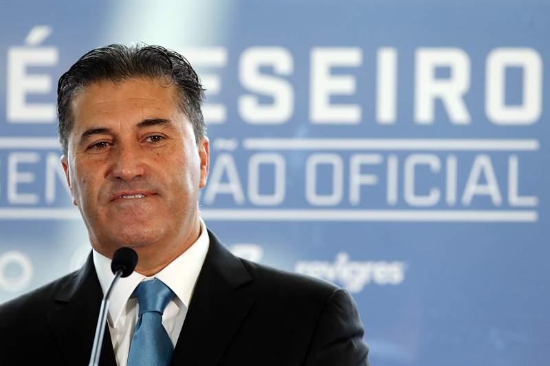 José Peseiro apresentado no FC Porto