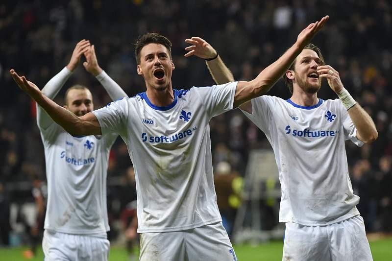 Darmstadt festeja regresso às vitórias