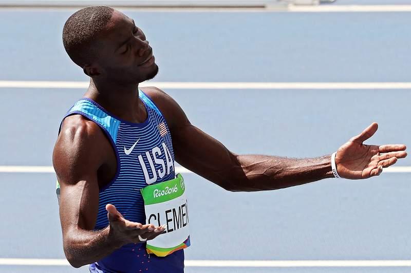 Kerron Clement sagra-se campeão dos 400 metros barreiras