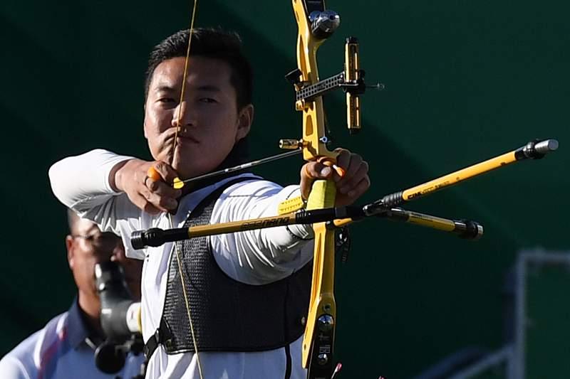 Ku Bonchan reforça domínio sul-coreano no tiro com arco