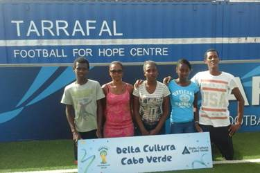 Delta Cultura representa Cabo Verde no festival da Streetfootballworld