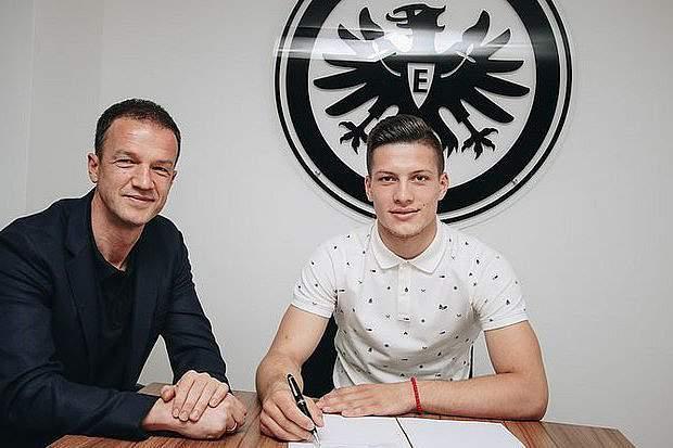 Jovic na Bundesliga