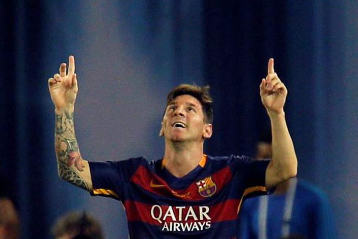 Messi foi o melhor do mundo em 2015 para a revista World Soccer