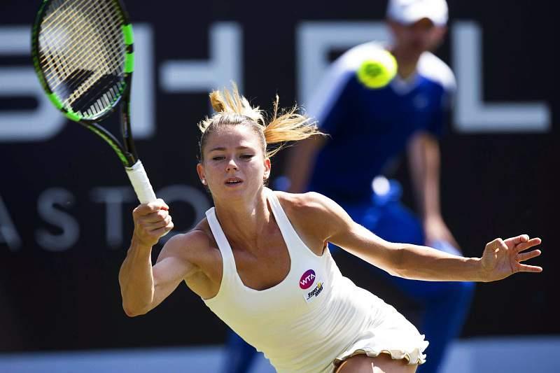 Camila Giorgi vence torneio feminino de ténis de Den Bosch