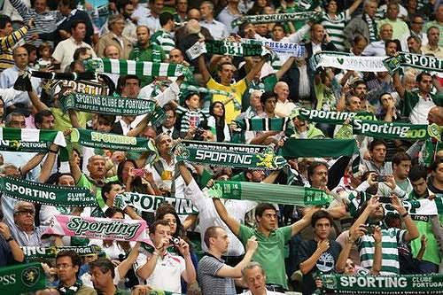 Adeptos do Sporting