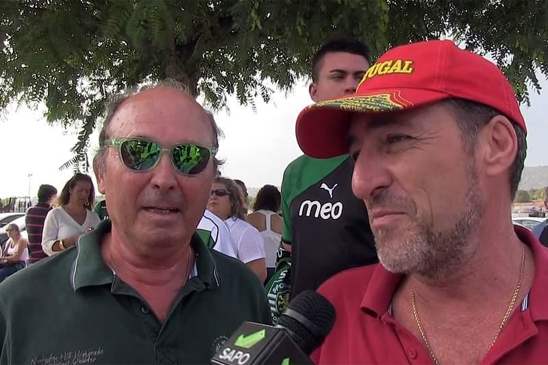 Adeptos de Benfica e Sporting avaliam troca de palavras