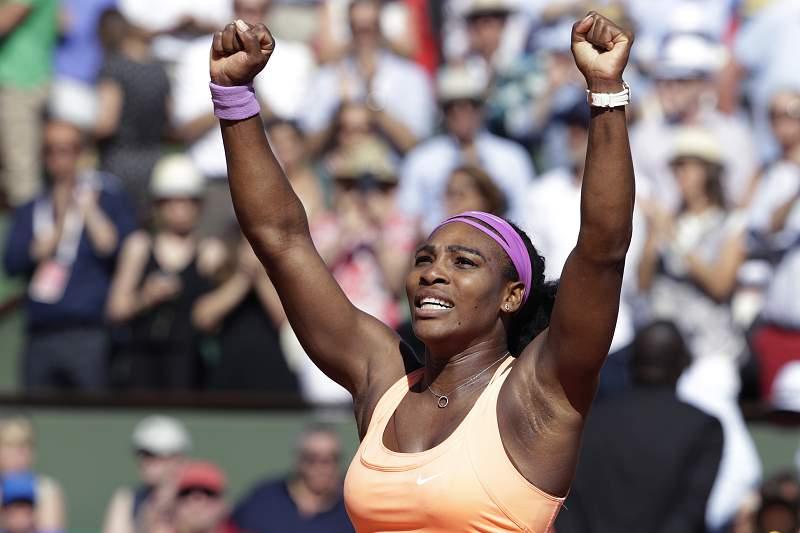 Serena Williams chega ao 'tri' em Roland Garros