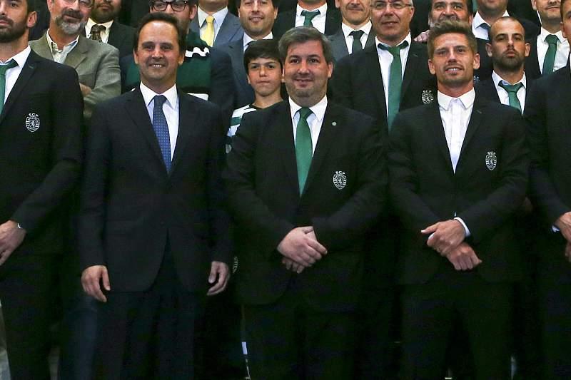 Sporting CP recebido na Câmara Municipal de Lisboa