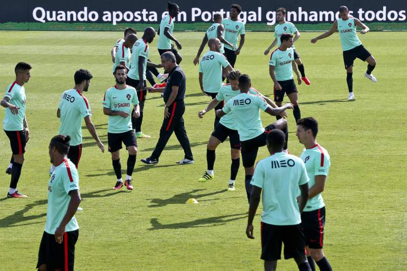 Portugal training