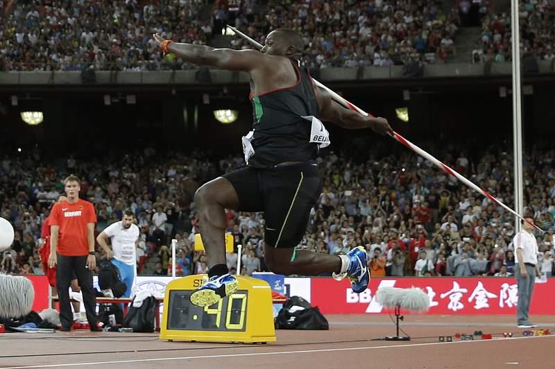 julius yego lançamento dardo atletismo