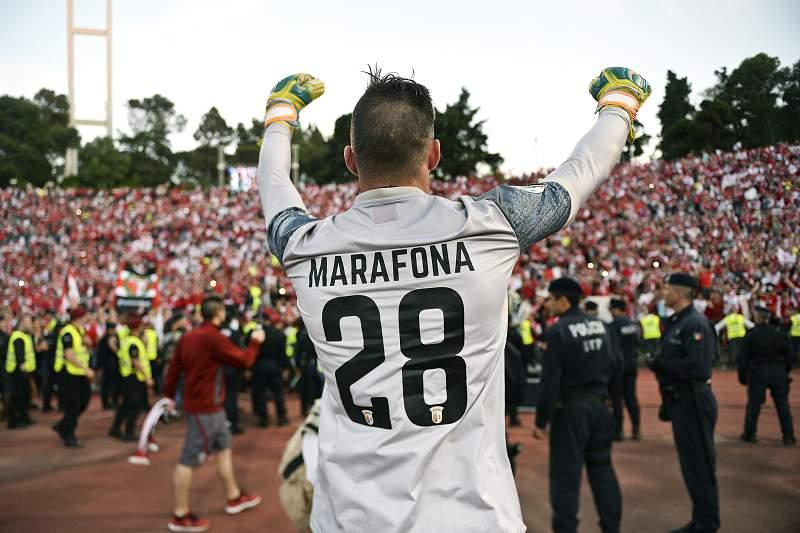 Marafona celebra a conquista da Taça de Portugal 2016