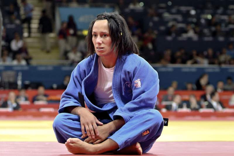 Judoca Joana Ramos de ouro no Grand Slam de Tyumen