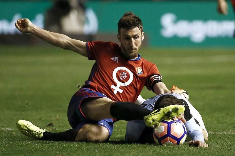 Eibar empata 1-1 com Osasuna e atrasa-se na luta pelas competições europeias