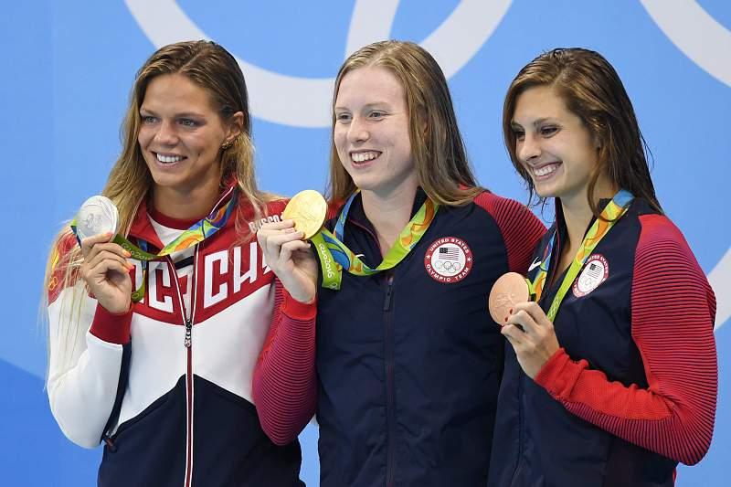 Norte-americana Lilly King conquista ouro nos 100 metros bruços