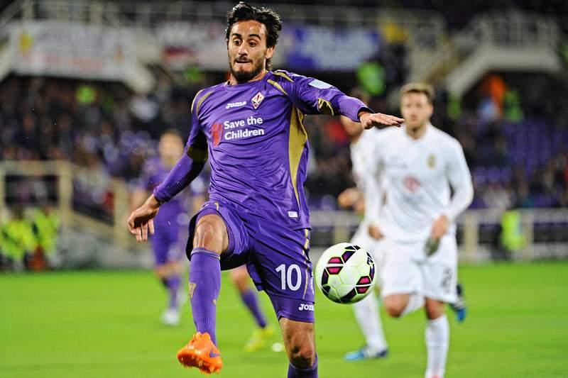 Alberto Aquilani em ação pela Fiorentina