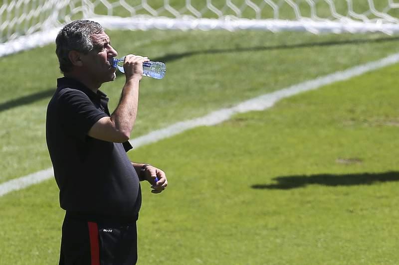 Euro 2016: Portugal National team training