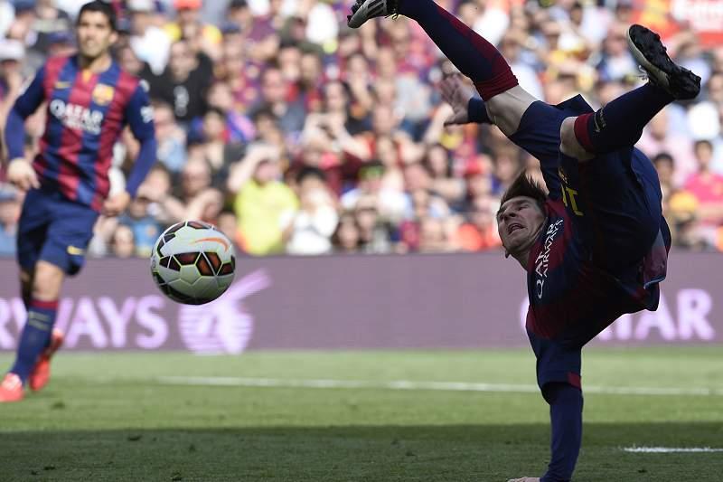Messi e Suárez controlados pela UEFA