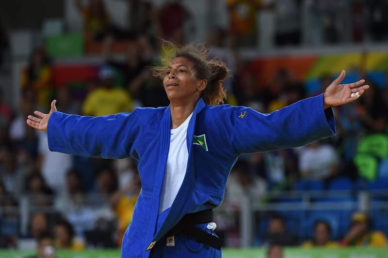 Rafaela Silva ganha o ouro 'em casa'