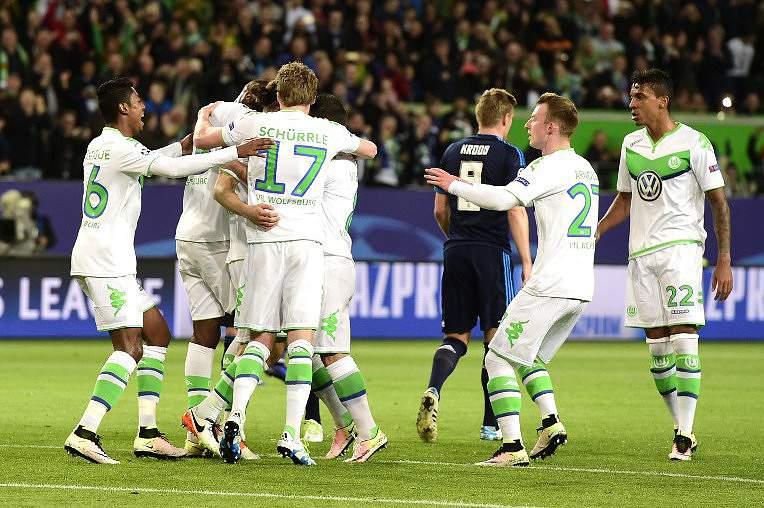 Wolfsburgo festeja