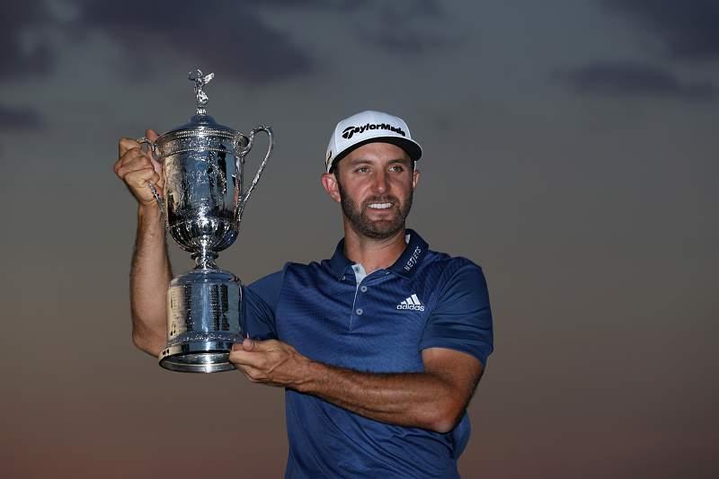 Dustin Johnson conquista primeiro grande título da carreira no US Open em golfe