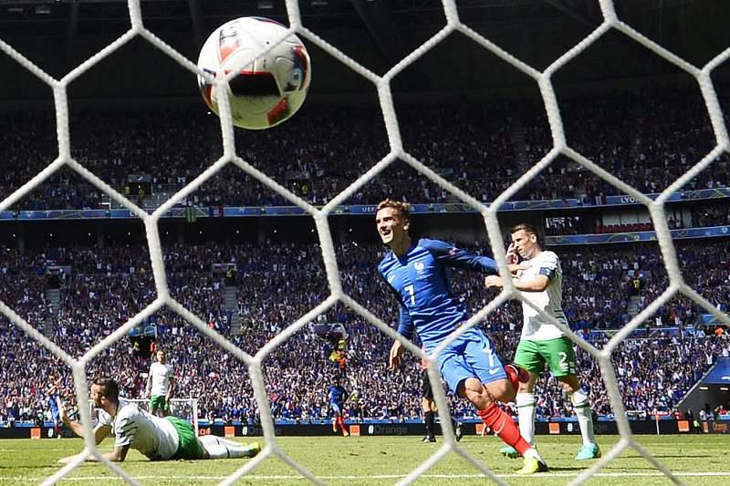 Round of 16 France vs Ireland