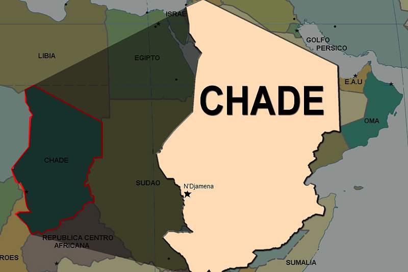 Mapa do Chade