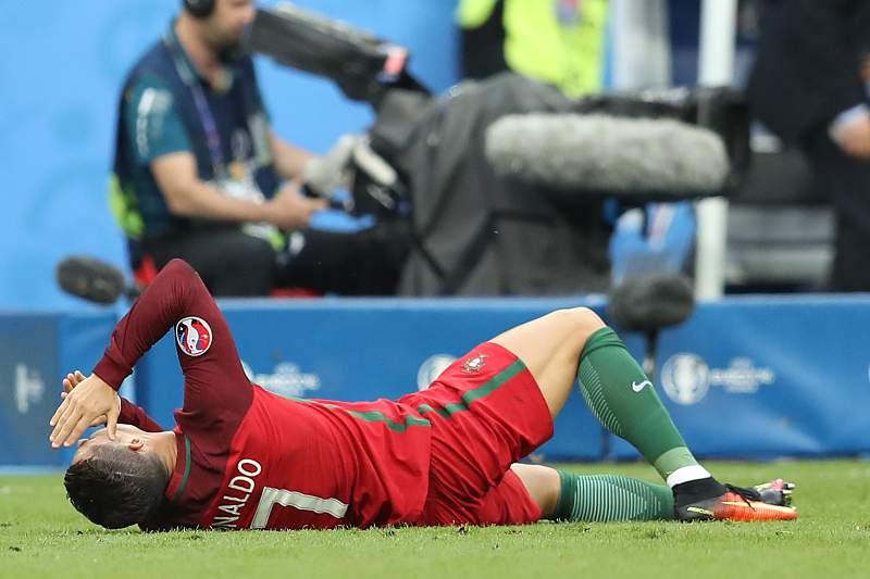 Ronaldo lesionado