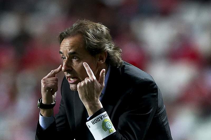 Quim Machado analisa jogo com o Benfica
