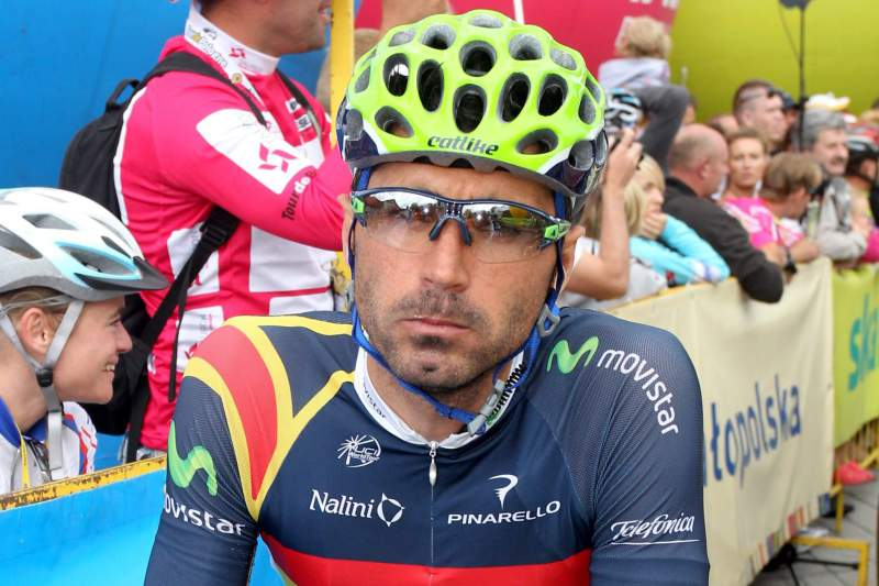 Francisco Ventoso, ciclista da Movistar