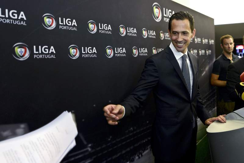 Pedro Proença é o novo presidente da Liga Portuguesa de Futebol Profissional. FERNANDO VELUDO/LUSA