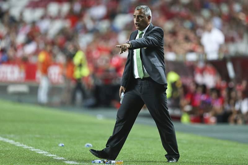 José Couceiro, treinador do Vitória de Setúbal