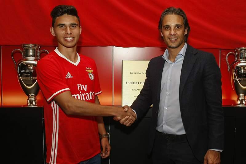 Ricardo Matos, jogador do Benfica