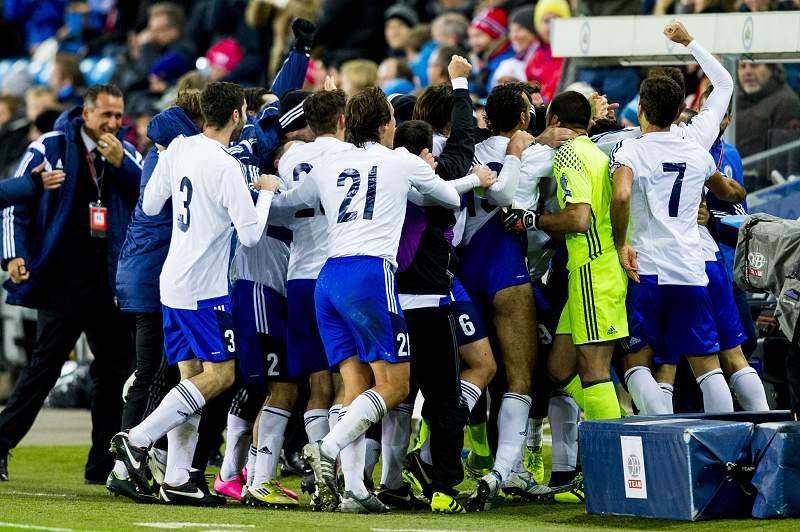 São Marino marcou à Noruega e originou dois tipos de loucura