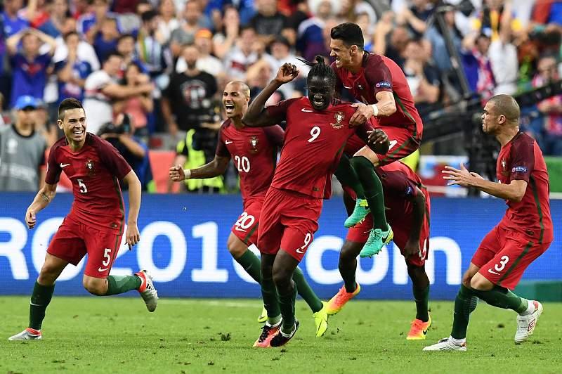 Golo de eder na final do euro 2016 Portugal-França