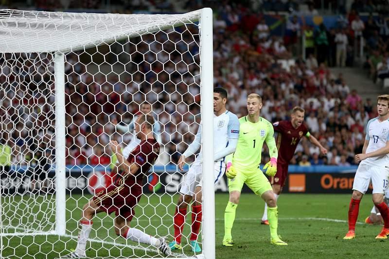 Group B England vs Russia