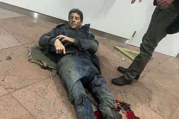 Sebastien Bellin ficou ferido num dos ataques terroristas em Bruxelas