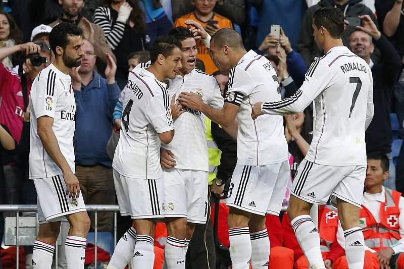 Real Madrid em festa