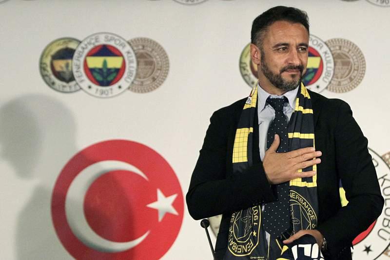 Vítor Pereira, treinador do Fenerbahçe