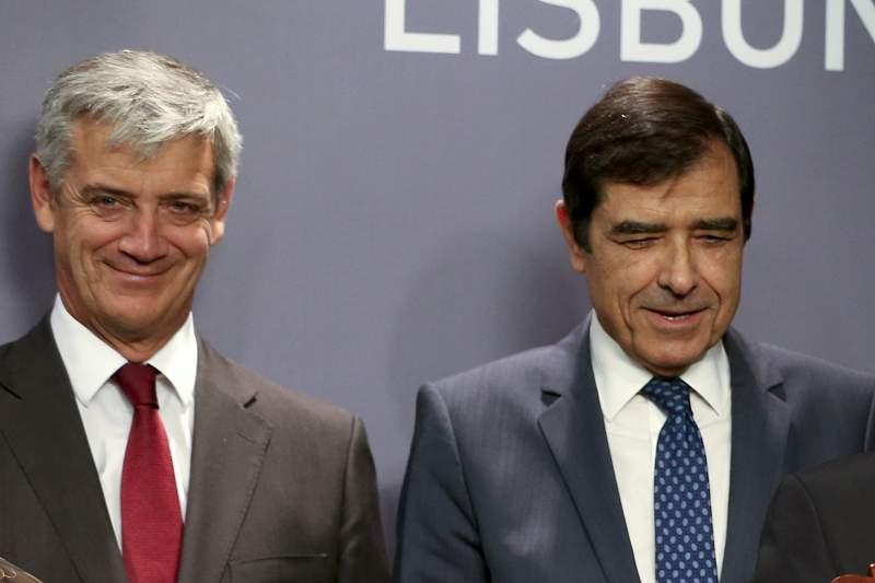 Domingos Soares Oliveira e José Eduardo Moniz com Rui Cunha