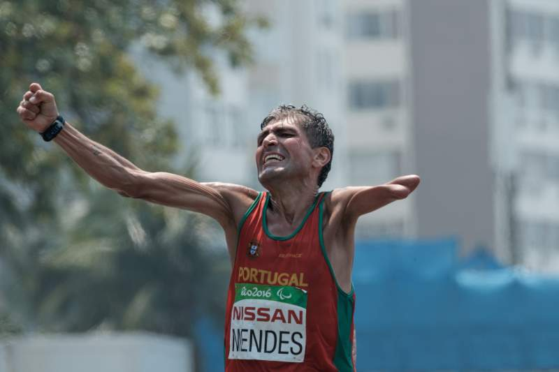 Manuel Mendes (Paralímpicos), atleta de maratona