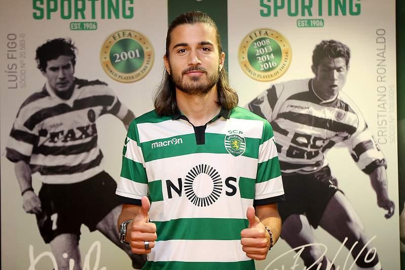 Mattheus Oliveira foi contratado pelo Sporting C. Portugal ao Estoril Praia