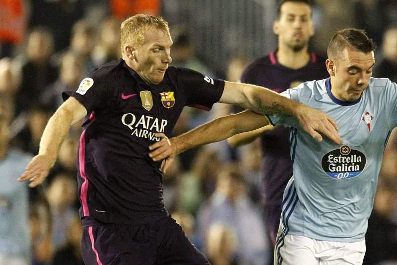 Mathieu representa o Barcelona