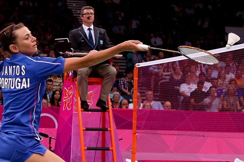 Londres2012: Badminton: Telma Santos