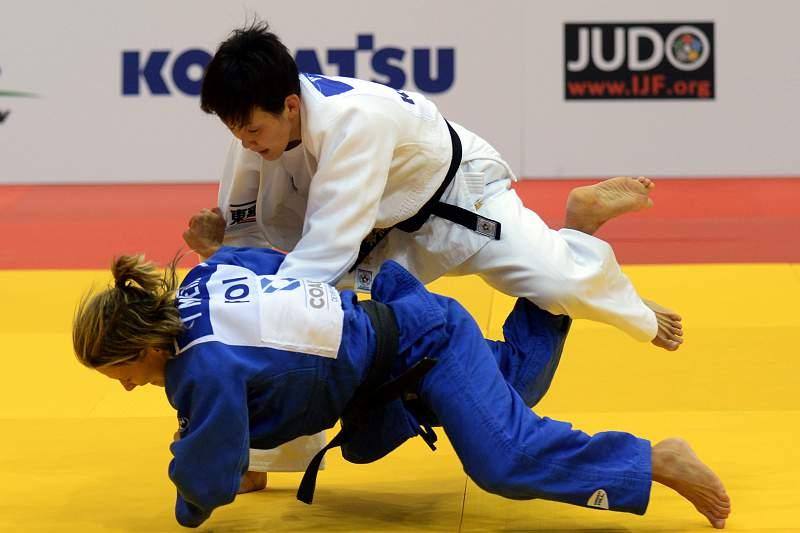 telma monteiro vice-campea do mundo de judo