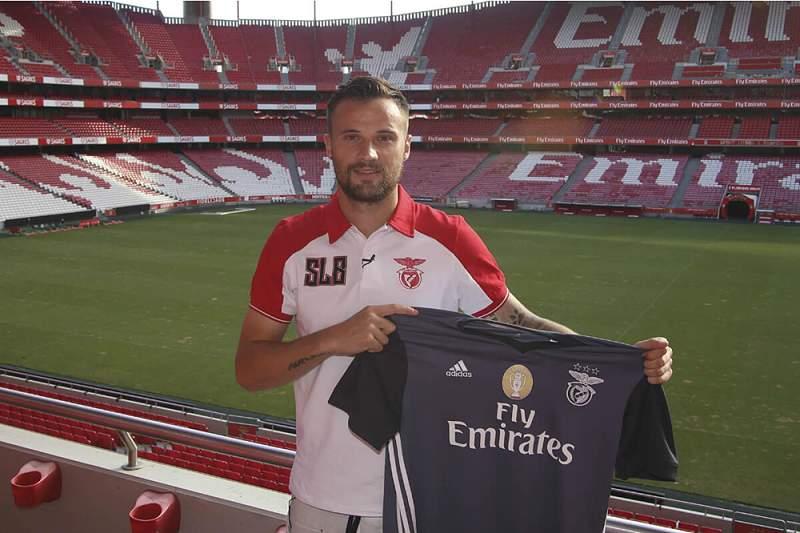 """Seferovic:""""Escolhi o Benfica porque é um clube muito grande"""""""