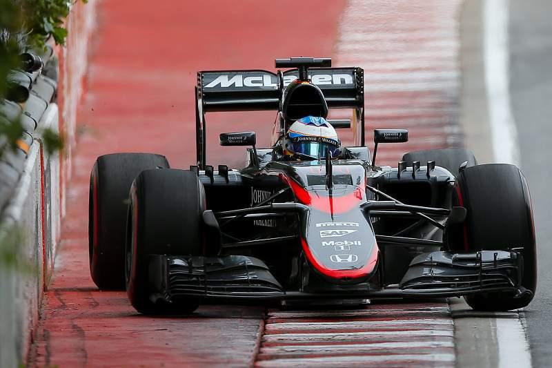 Fernando Alonso na McLaren Honda
