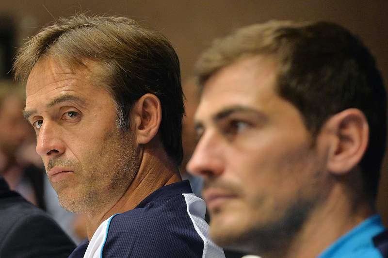 Julen Lopetegui cruzou-se com Iker Casillas no FC Porto